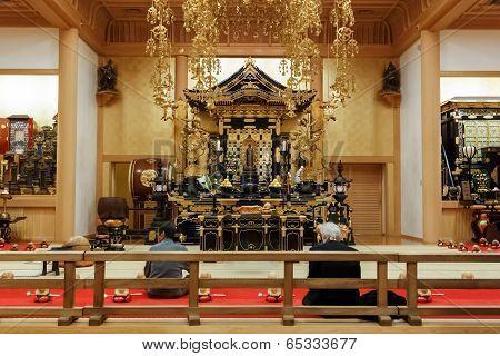 Ankokuden ha at Zojoji Templein Tokyo