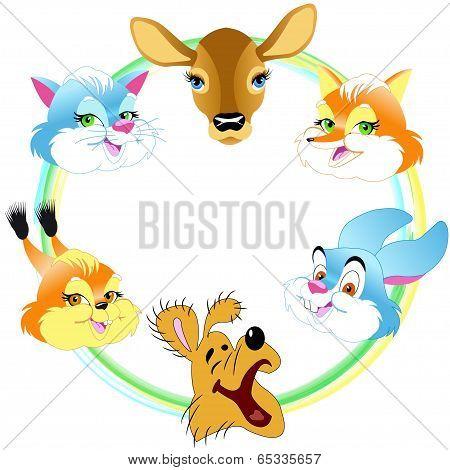 Mugs Cartoon Animal
