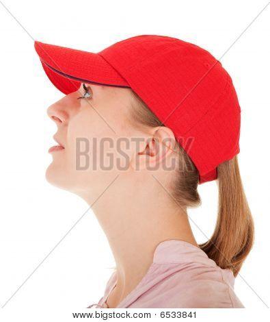 Trendy Girl With Cap