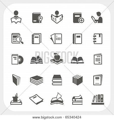 Book Icons Set