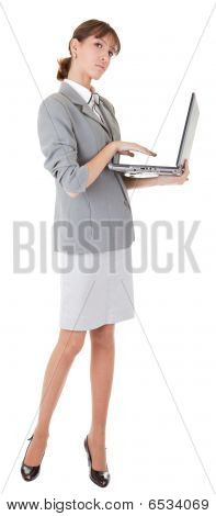 Yong Girl In Office Clouses