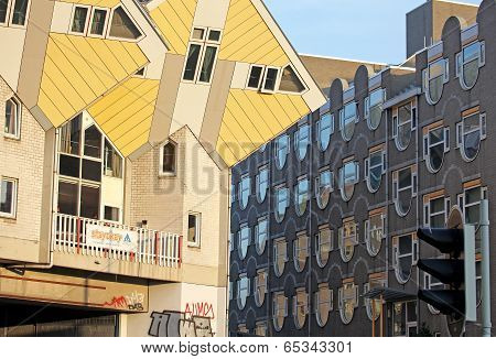 he cube houses in Rotterdam