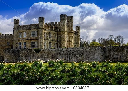 Medieveil Castle In England
