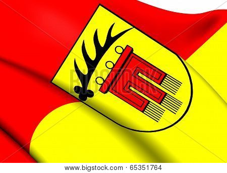 Flag Of Boeblingen Kreis