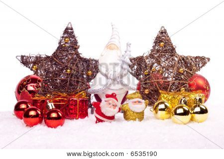 Xmas Decoration Isolated On White