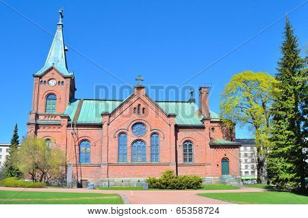 Finland. Jyvaskyla City Church