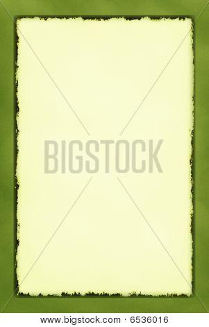 Decorative Grunge Border Series Olive