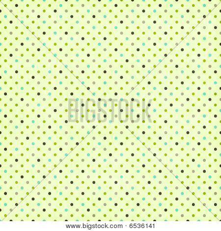 Cream Polka Dot Paper