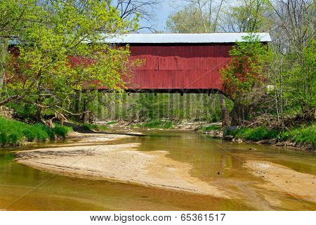 Wilkins Mill Covered Bridge
