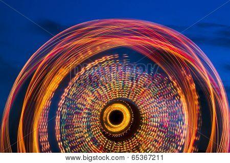 Ferris Wheel At Twilight