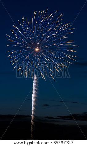 Evening Firework