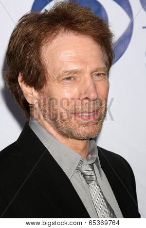 LOS ANGELES - MAY 19:  Jerry Bruckheimer at the CBS Summer Soiree at London Hotel on May 19, 2014 in West Hollywood, CA