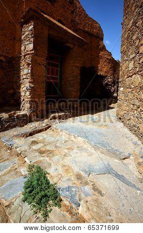 Fortified Kasbah of Tizourgane, Atlas mountains, Morocco