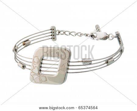 fashion necklace isolated on white