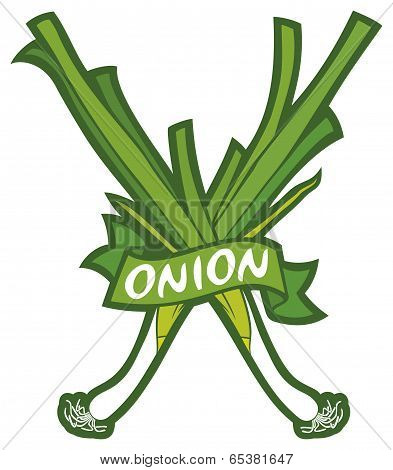 green onion label