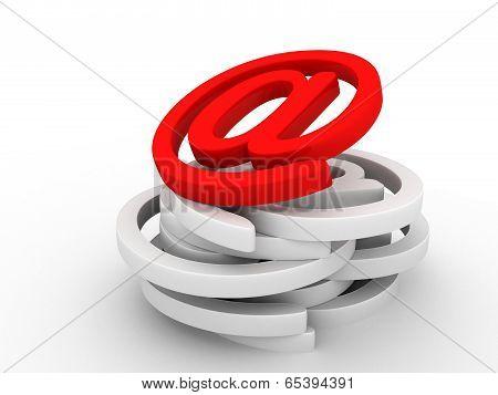 e-mail icon symbol
