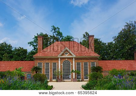 Garden House At Mount Vernon