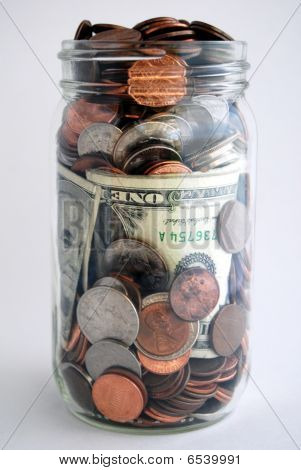 Money In Jar