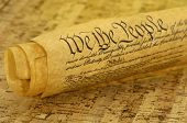 stock photo of bill-of-rights  - United States Bill of Rights - JPG