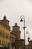 foto of ferrara  - City of Ferrara downtown - JPG