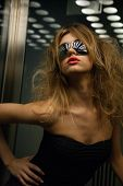 image of elevators  - fashion and people concept  - JPG