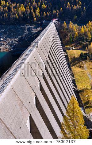 Bissina Dam - Adamello Trento Italy