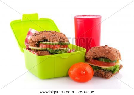 Healthy Red Lunchbox