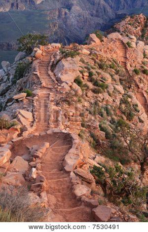 South Kaibab Trail Steps