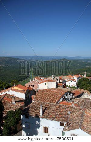 The village of Motovun