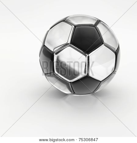 Glass/Crystal Soccer Ball