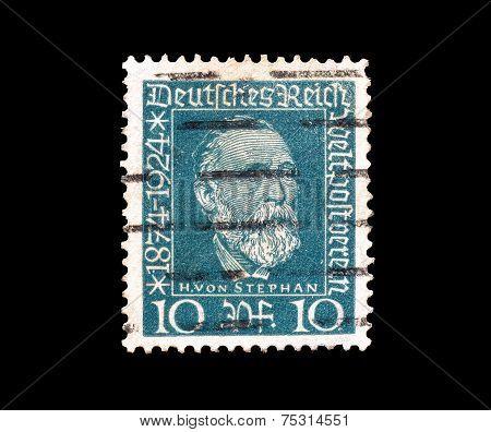 Henrich von Stephan 1924