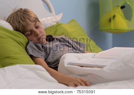 Cute Boy Sleeping