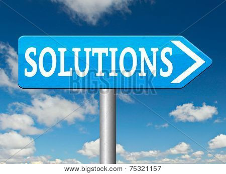 solutions solve problems and search and find a solution