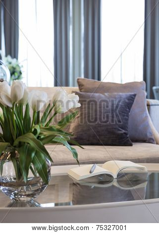 Living room sofa home interior decoration