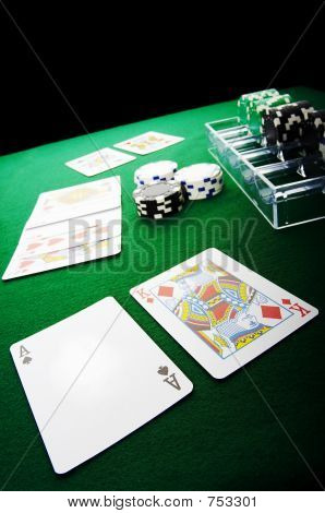 Poker game