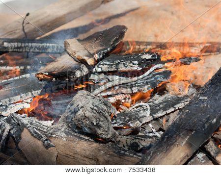 Campfire Flame