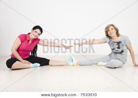 Active Two Women Training