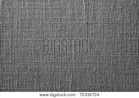 Fabric With Crisscross Fibers Of Dark Color