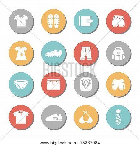 Appearances Icons Set