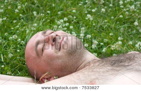 Man Relax
