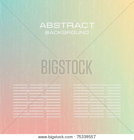 Abstract soft pastel banners set. Green, blue, yellow  and pink pastel colorful background. Vector banners for you design.