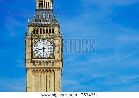 Tower of Big Ben London UK