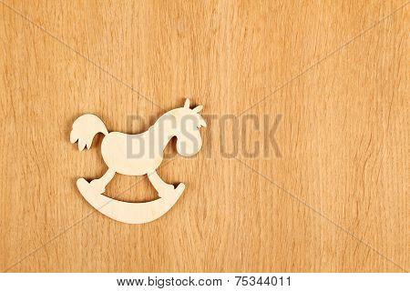 Horse. Wooden