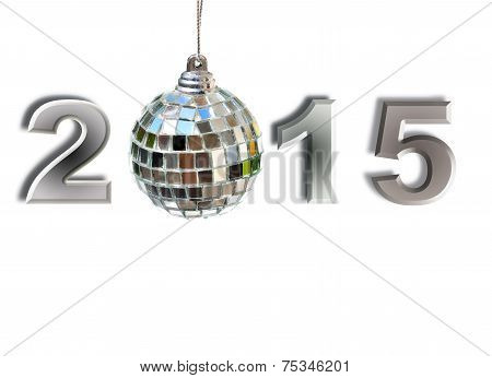 2015 With Disco Ball