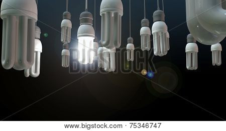 Leadership Hanging Lightbulb