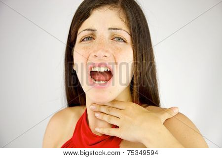 Woman Left Without Voice Unable To Talk