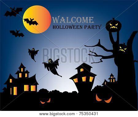 Halloween Party flyer 7