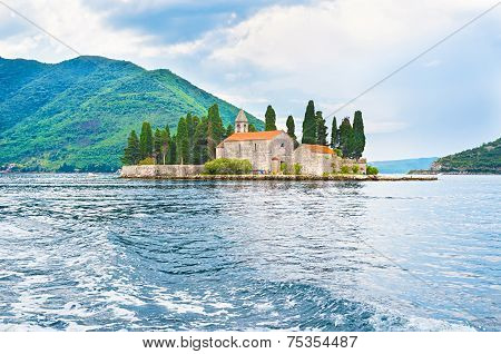 The Islet With The Monastery