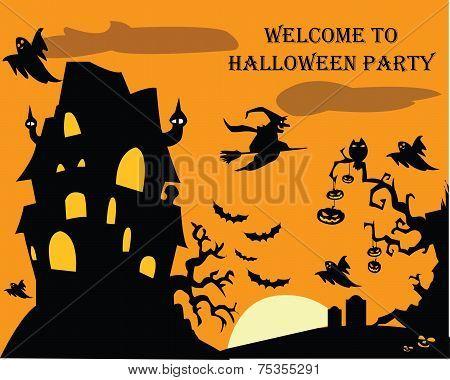 Halloween Party flyer 6