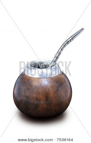 A Calabash With A Bombilla